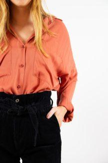 peachy shirt