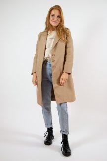 classy beige coat