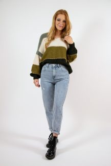 green shades knit