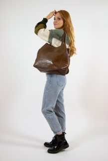 big brown shopper