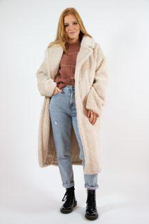 cosy teddy coat
