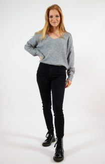 soft grey jumper