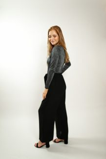 culottes black trousers