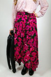 fuchsia flow skirt