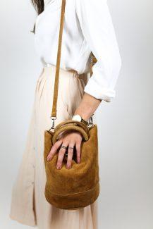 camel pouch bag