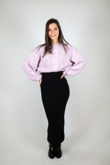 lilac knit
