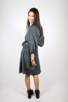 Lila flower dress