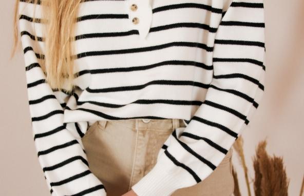Liv striped knit